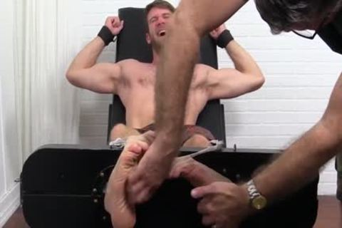 Colby Keller With A perfect Body acquires A Foot And Toe Tickle