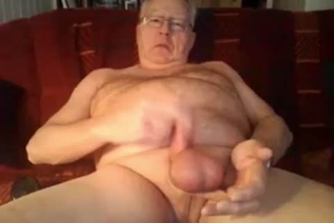 daddy man stroke And sperm On cam