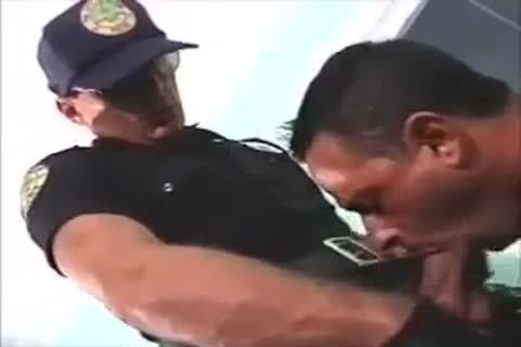 poked By Police Officer