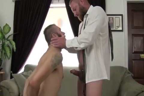 Hard homosexual Businessman Plants His penis In A guy