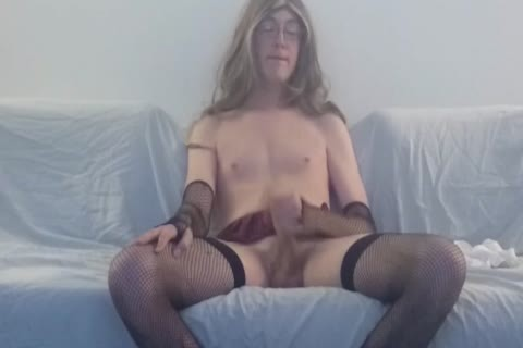 Solo Sissy Amber Emily Watching Porn And banging Herself