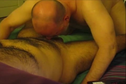 Sensuous sucking For A hairy Senor.  In Real Time.