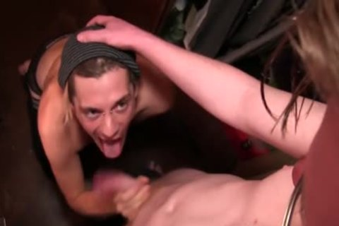 A Monster dick pushed Inside Him