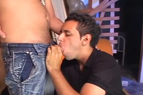 RICCO PUENTES IS pounding FAGS raw three - Scene 2