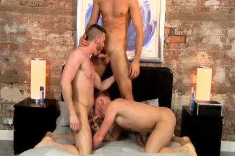BlakeMason Celebrates 10 Years With A threesome - JP Dubois Theo Ford Andro Maas