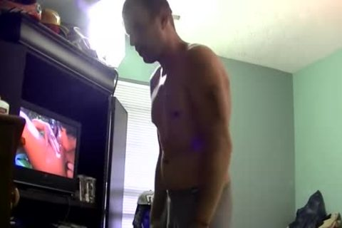 juicy butthole Jason Whips His fat cock Out For Joe To suck It