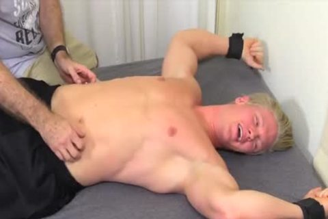 pretty And blonde guy Named Seamus acquires Tickled Hard