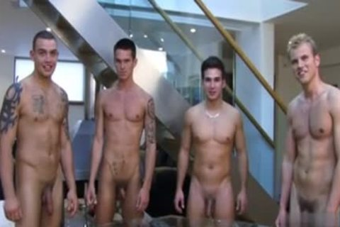 Muscle gay Rimjob And ejaculation