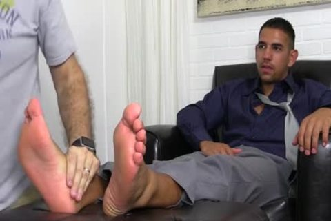 Straight man acquires sucked and swallowed by