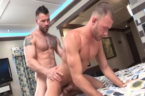 Dirty gay ass invasion and cumshot