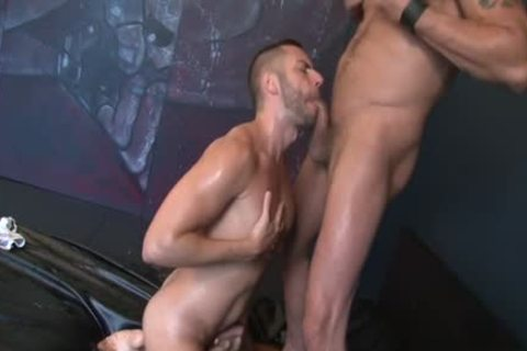 Gaycastings nico duvall receives plowed by his new agent