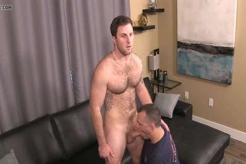 naughty, hairy lad Sucked And Rimmed