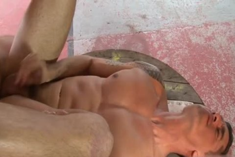 Muscle homo butthole sex With Facial