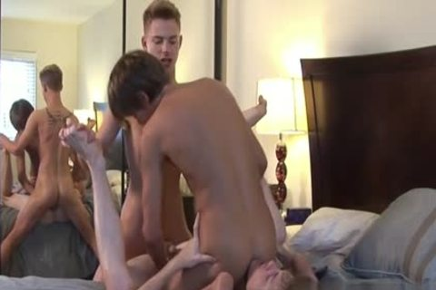 Horny ramrod fetish and cumshot
