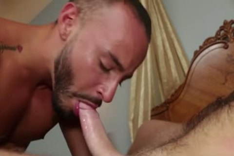 hairy penis Flip Flop With swap