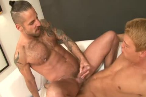 Large knob son blow job with ejaculation