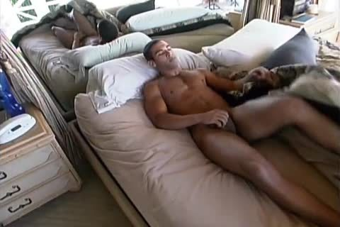 Muscle Hunk Working Out And Jacking Off cock