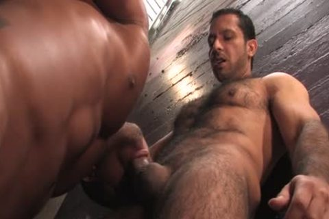 hairy gay butthole And goo flow