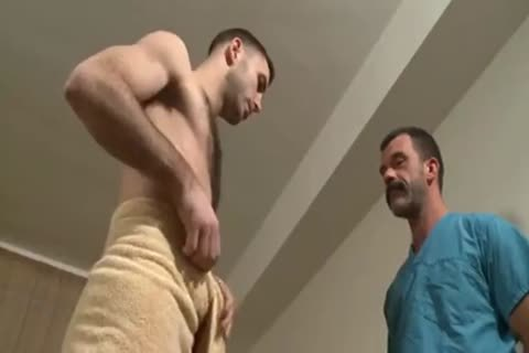 Cute boys sucking in doctors room