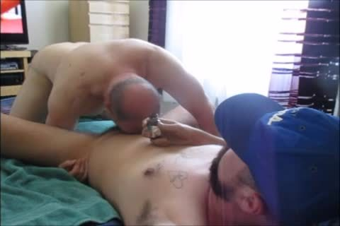 Tatted Construction chap Seeks oral-service