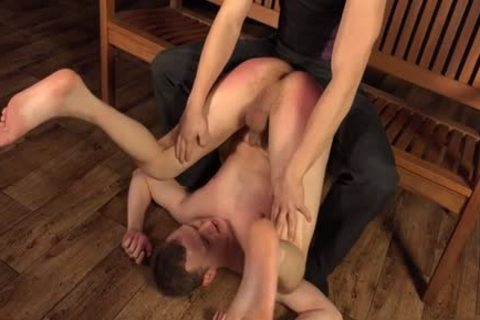 Large penis homo spanking and facial
