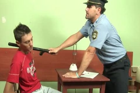 DADDY POLICE pounds A BAD teen