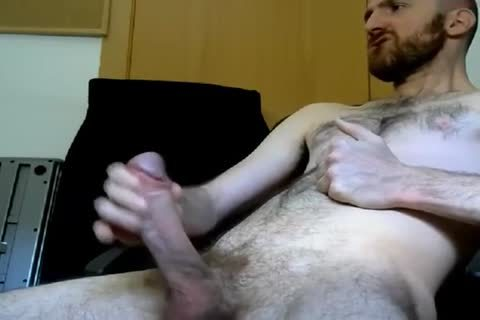 Furry Cammer Beats His meat