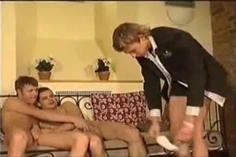 Czech Three-some - BoyFriendTVcom