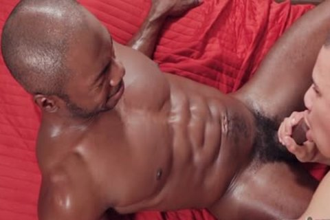 massive penis twink Interracial With Facial