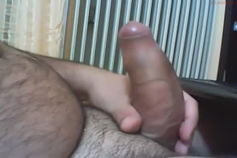 big Uncut Bear penis