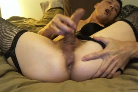 Slutty hunk completely is a pro stroker