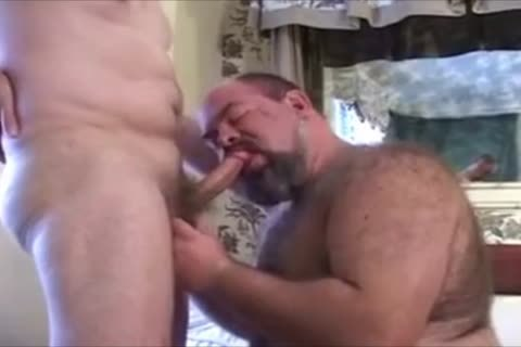 humongous shaggy Chub Bear And Daddy Have Some pleasure.