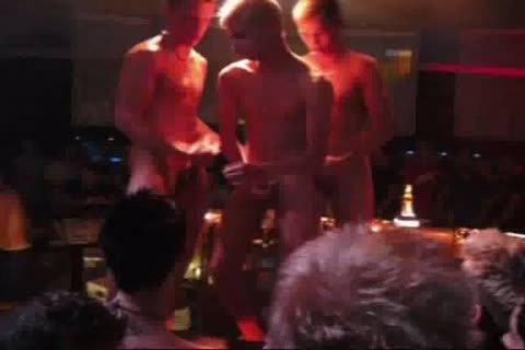 three yummy Strippers Show It again
