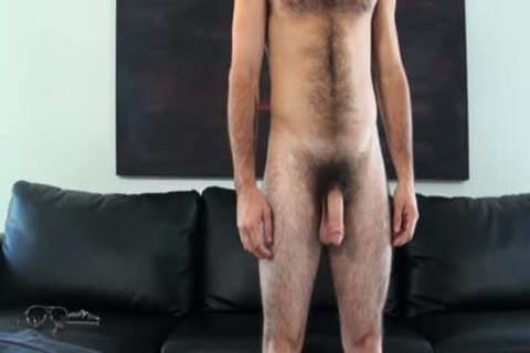 HD GayCastings - Josh hairy arsehole Is fucked By The Casting Agent