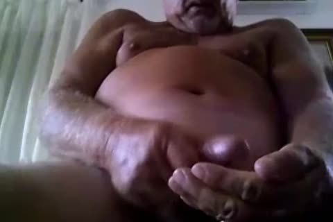 daddy man sperm On webcam