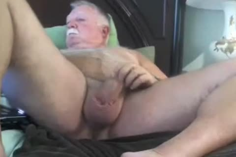 grandad sperm On web camera