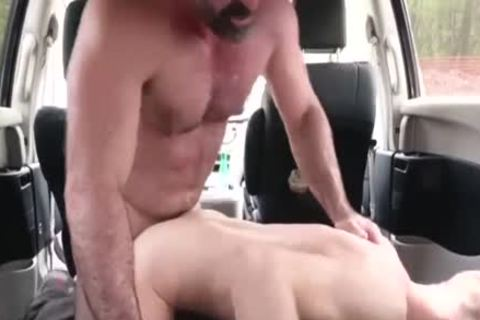 wicked daddy pounds His Step Son In A Car - FAMI