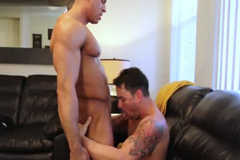 Painfully butthole barebacking by sexy and naughty homo men