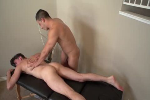 sleazy homosexual oral-sex With Massage