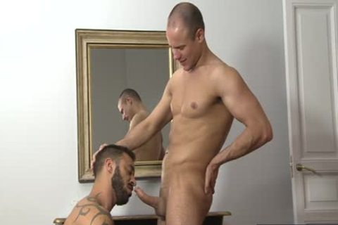 European Bear irrumation-service And cumshot