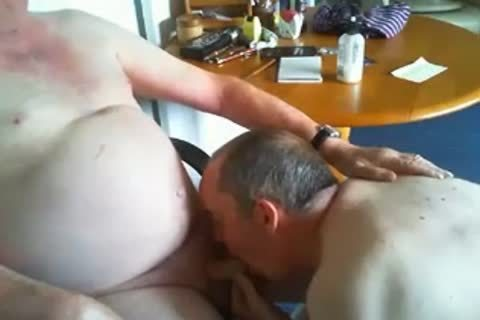 grand-dad And Daddy On webcam