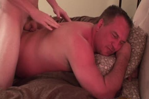 Jacob Massages Daddy & Makes Him sperm