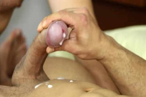 Muscle gay oral-service sex And ejaculation