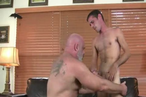 tasty hirsute fat daddy bonks Hard His Son