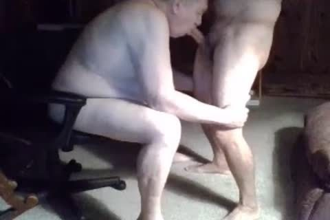 daddy man suck On webcam