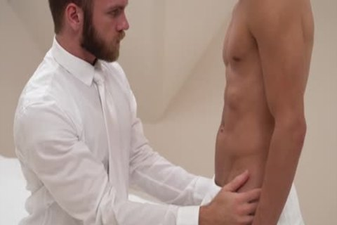 MormonBoyz - older Cult Leader Daddy pounds young pliant