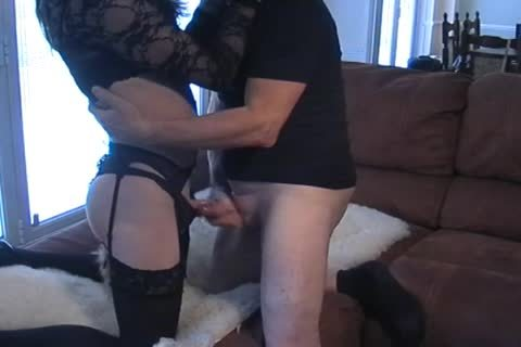 Petgirl Crossdresser pounded By old master