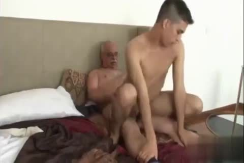 Gay daddy fucks his boy