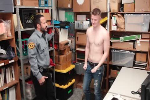 Tall blond Straight lad Barebacked By daddy lustful Security