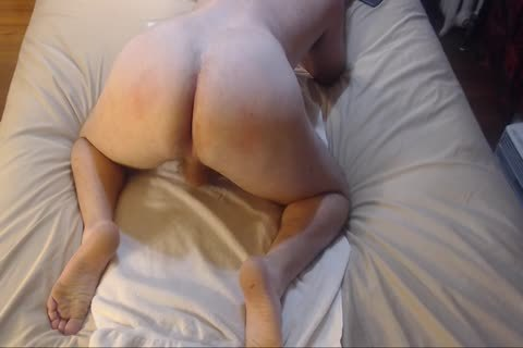 spanking Bubble butt With butthole-plug Jacking Off sperm On Chest